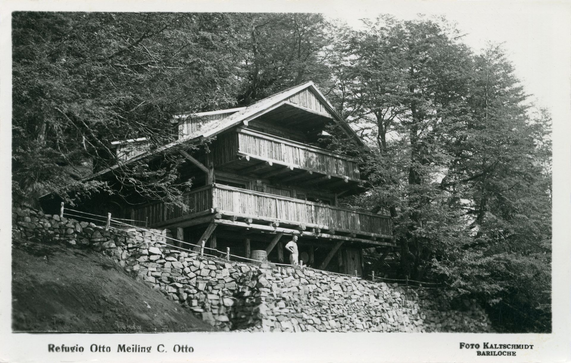 Refugio de Otto Meiling. circa 1940.