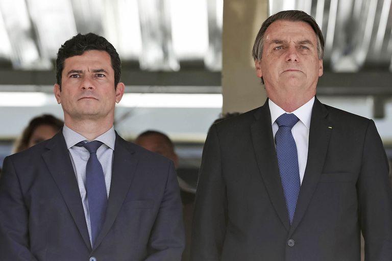 Moro era uno de los superministros del gobierno de Bolsonaro