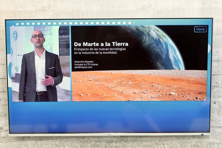 Alejandro Repetto, fundador y CTO de Inipop, y diseñador de futuros certificado por el Institute for the Future