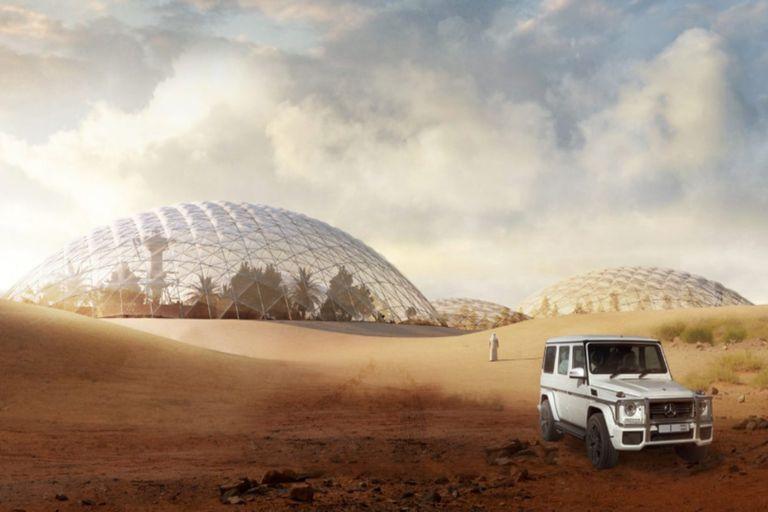 Dubái invertirá US$135 millones para construir una ciudad inspirada en Marte