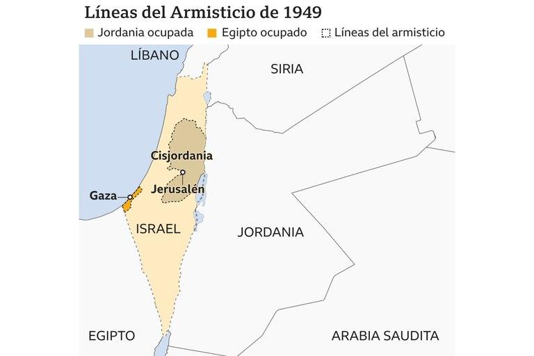 Así quedó el mapa representativo de 1949