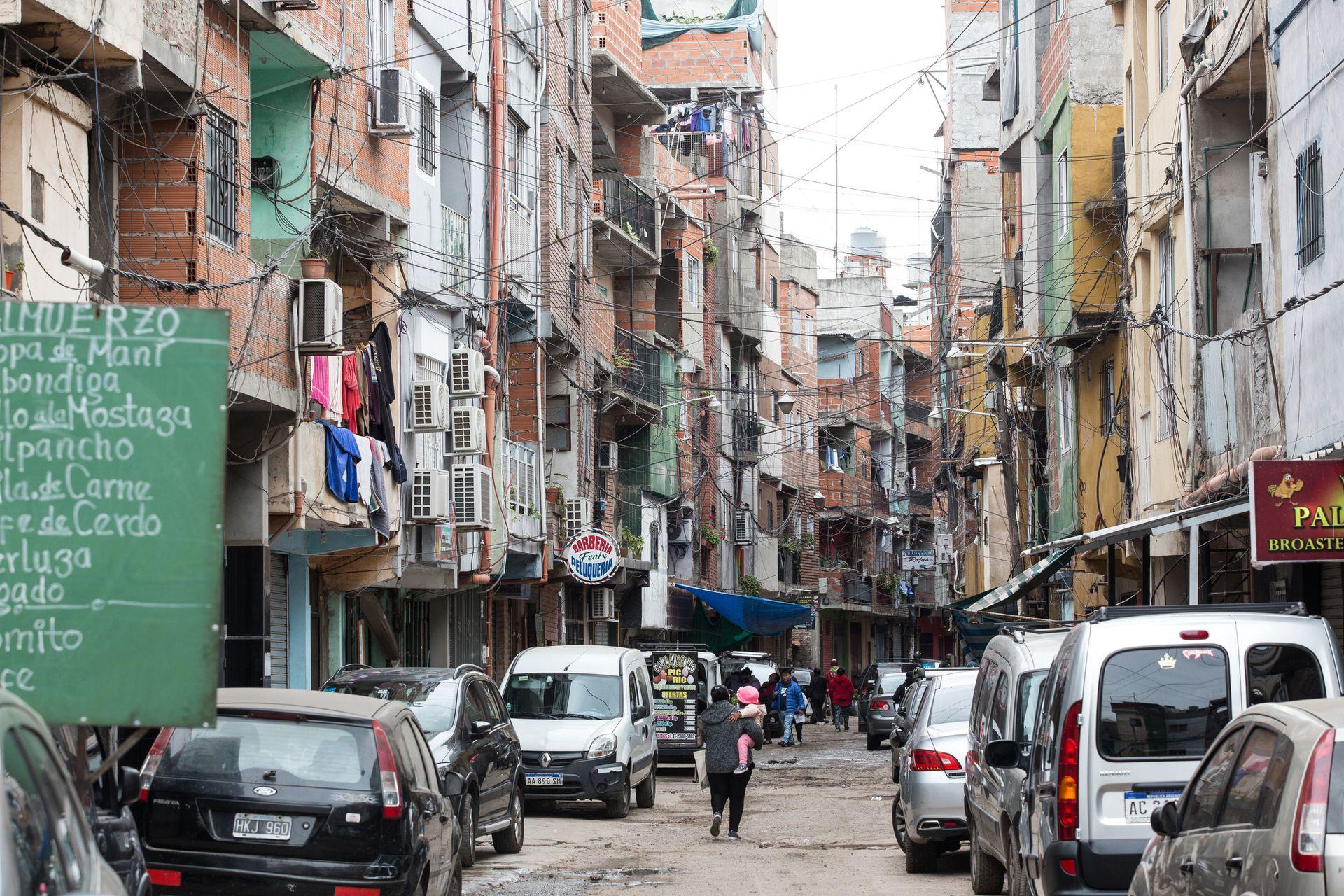 En el Barrio Ricciardelli viven alrededor de 70.000 personas
