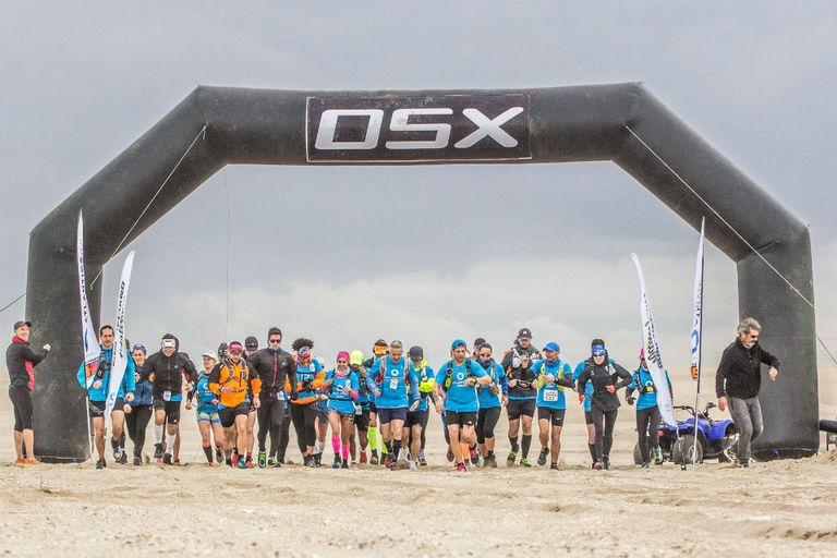 Germán Cordisco y Carina Pérez se quedaron con los 120km de Atlántica Ultra OSX