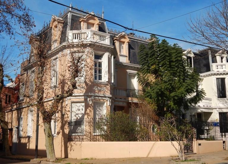En Flores. La última casa donde residió Baldomero Fernández Moreno en Bilbao 2384
