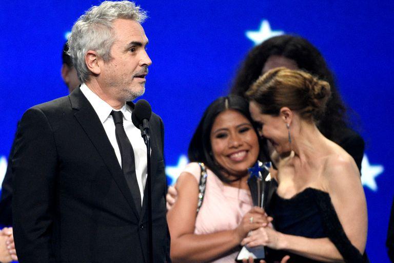 La película de Alfonso Cuarón se llevó cuatro premios