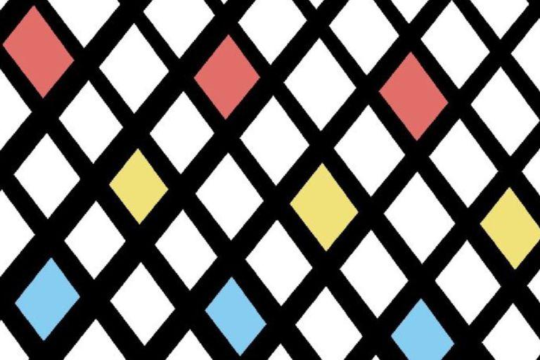 La bandera sin título diseñada por David Lynch