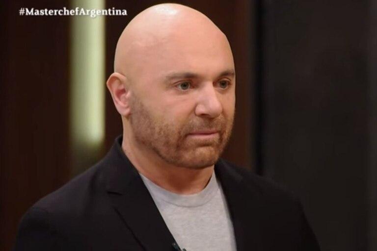 Germán Martitegui, en su rol como jurado de MasterChef Celebrity, fue intransigente con Rocío Marengo ante sus desafíos a las reglas del programa