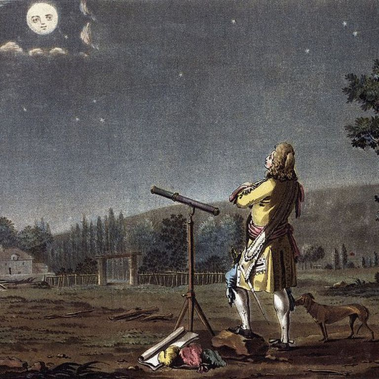 En el siglo XVII, los astrónomos ya conocían la distancia a la Luna con bastante precisión.