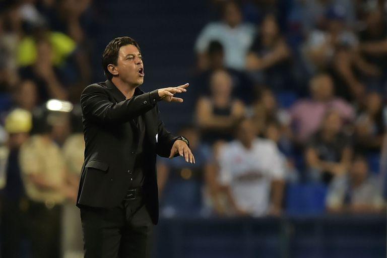 Marcelo Gallardo reconoció que River tuvo que aguantar en el segundo tiempo