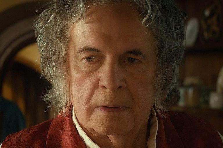 Ian Holm, en El señor de los anillos, uno de sus roles más recordados