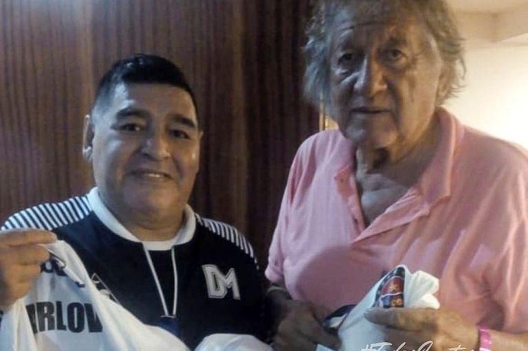 """Su encuentro con Diego. """"Fue más que Maradona"""", repiten lo que los vieron jugar"""