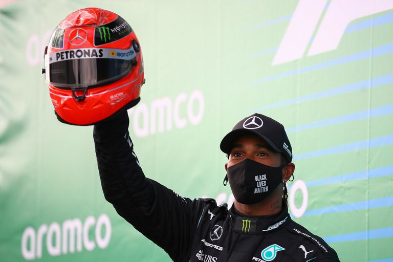 El especial regalo del hijo de Michael Schumacher que emocionó a Lewis Hamilton