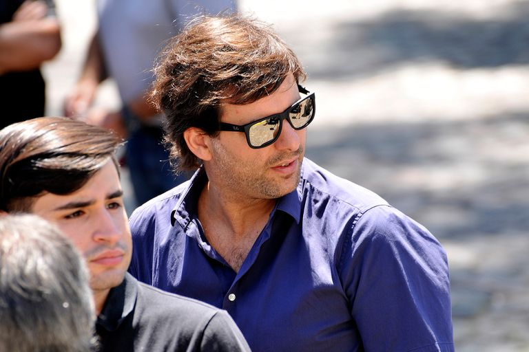 Nacho Iparraguirre, pareja de la periodista