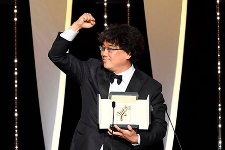 Cannes: el director coreano Bong Joon-ho se quedó con la Palma de Oro