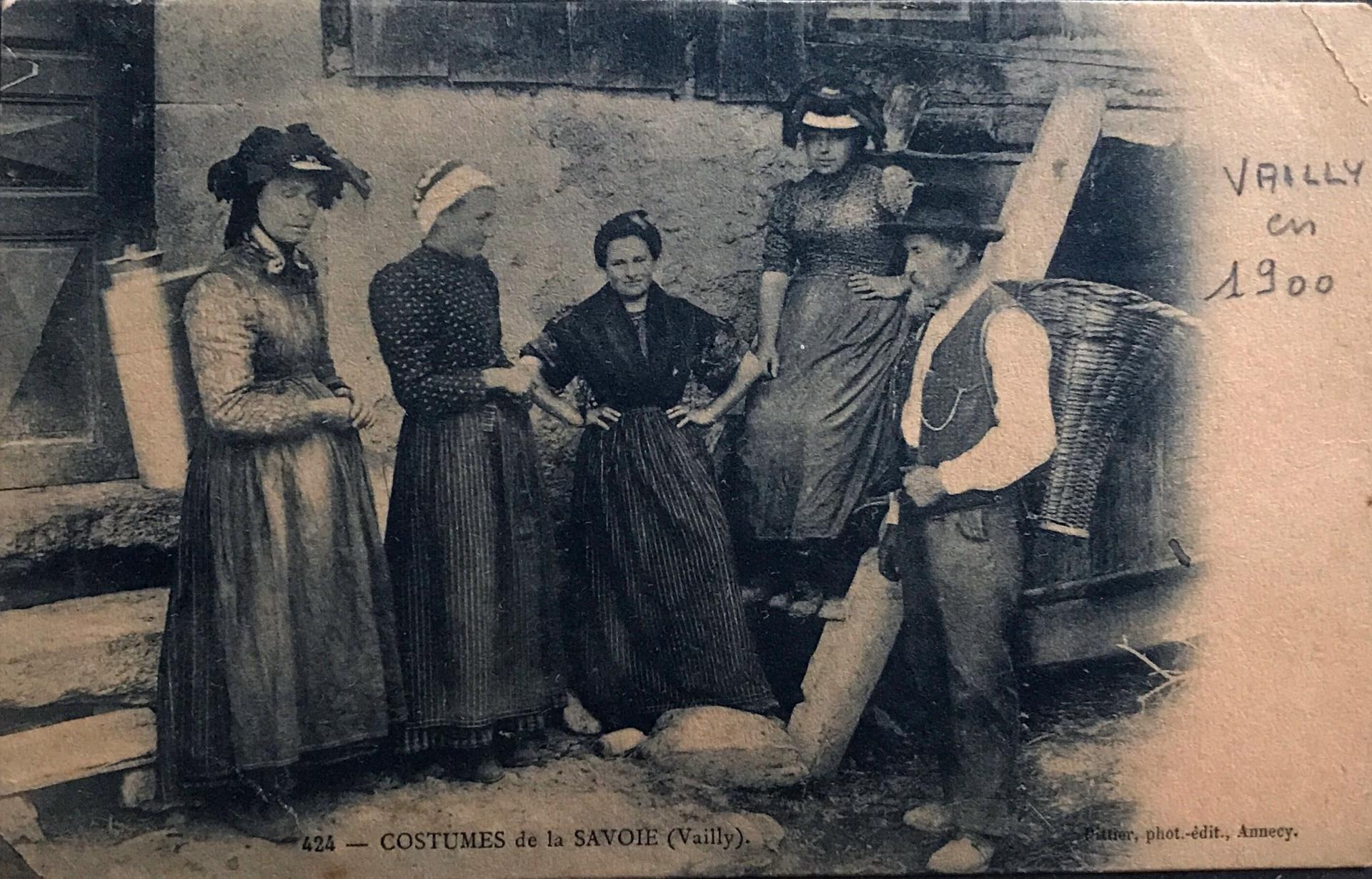Suizos de Vally. Hacia 1900. Varios migraron a Entre Ríos.