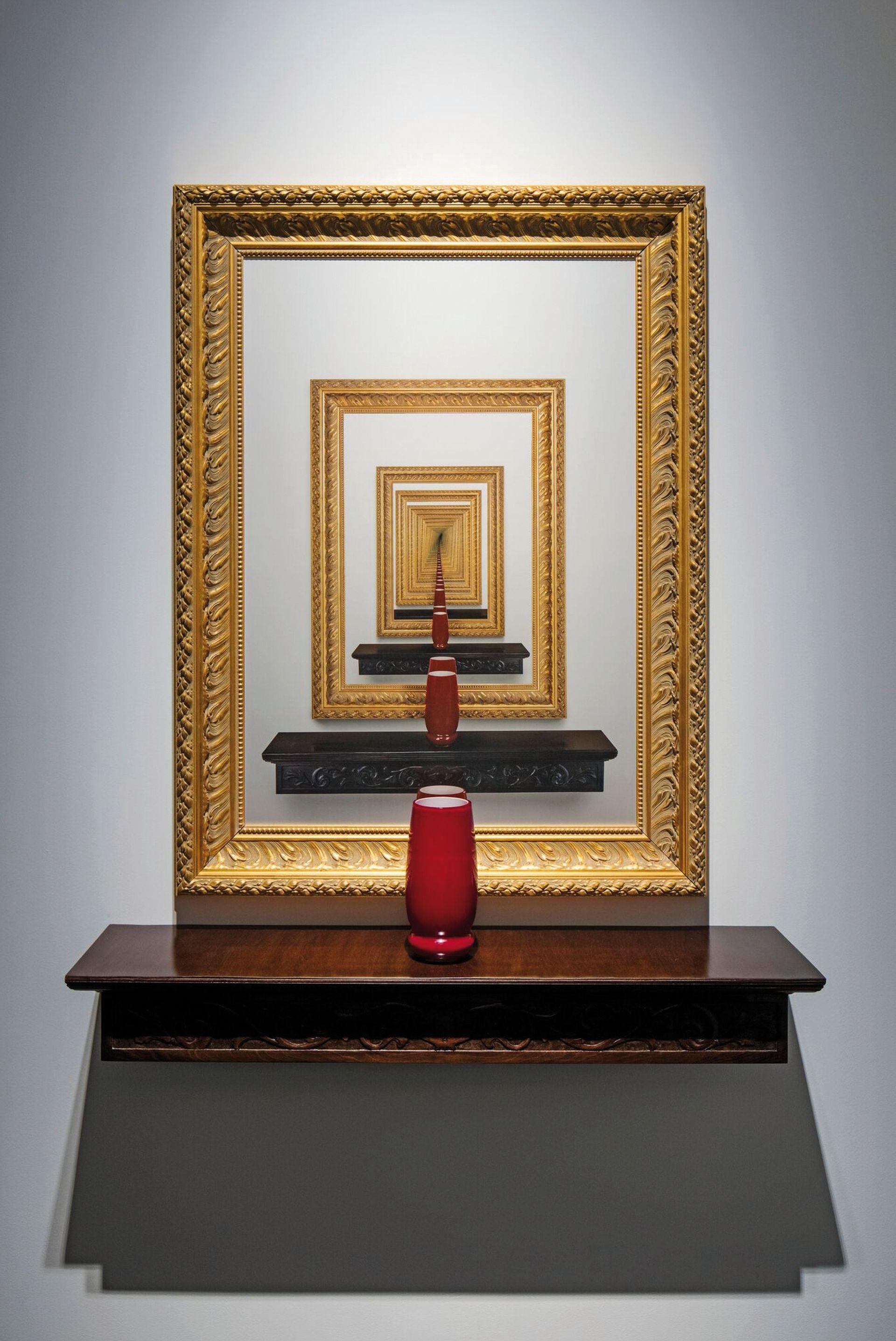 Cadres Dorés (2008), una de las obras que exhibirá el Malba
