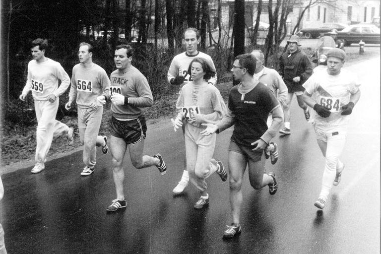 A partir de la maratón de Boston de 1967, las mujeres se animaron a correr largas distancias