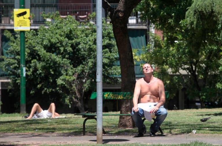 Cuál fue la última ola de calor récord en la Ciudad de Buenos Aires