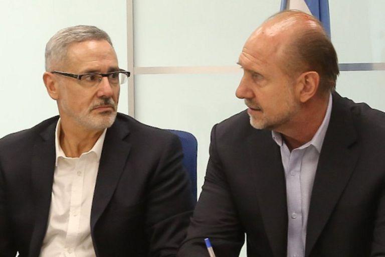El ministro Marcelo Saín se reunió ayer con el gobernador Omar Perotti