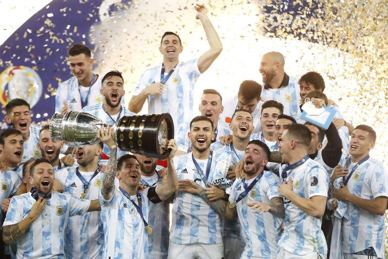 Messi levanta la Copa América en el Maracaná. ¡Argentina es el campeón!