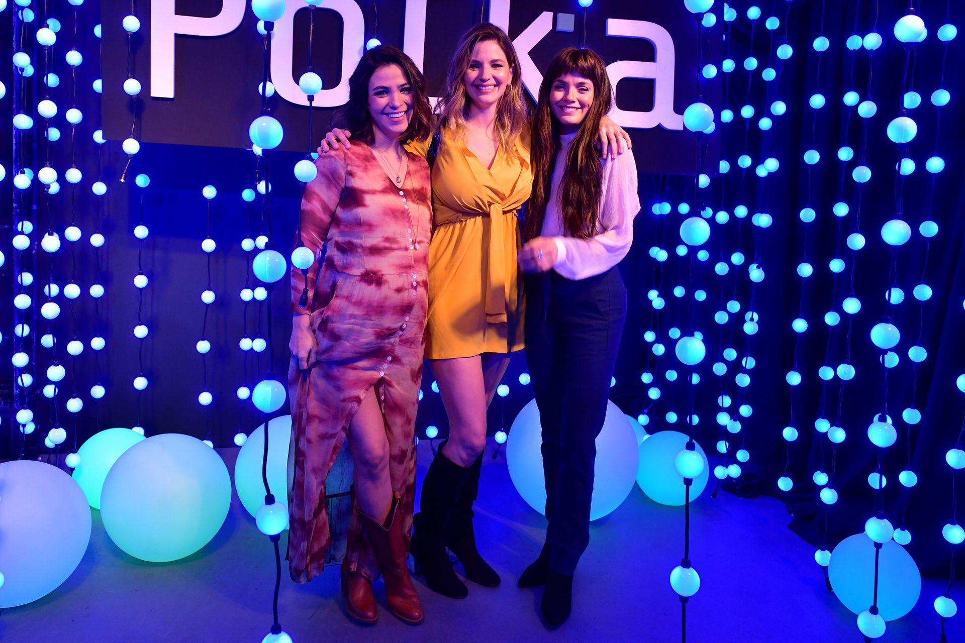 Agustina Cherri, Marcela Kloosterboer y Natalie Pérez