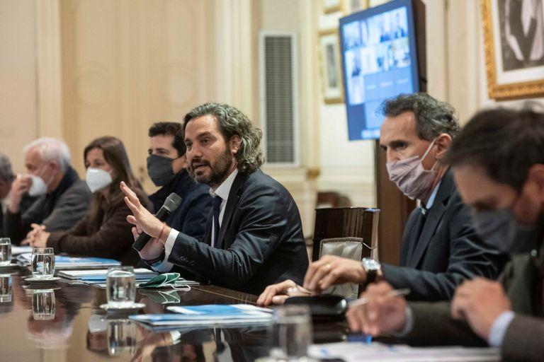 Reunión de Ministros en Casa Rosada.