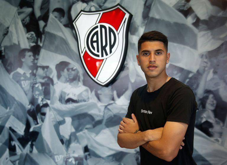 Palacios: el clic que le pedía Gallardo para que dejara de jugar como un chico