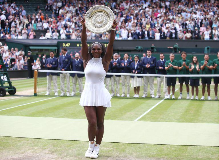 Blanco inmaculado: campeona de Wimbledon en 2016
