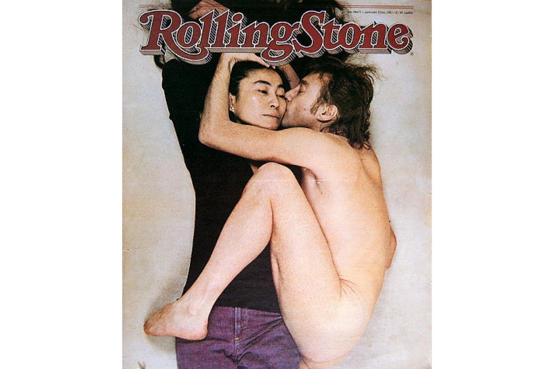 La tapa de Rolling Stone de enero de 1981 con la icónica foto de Annie Leibovitz