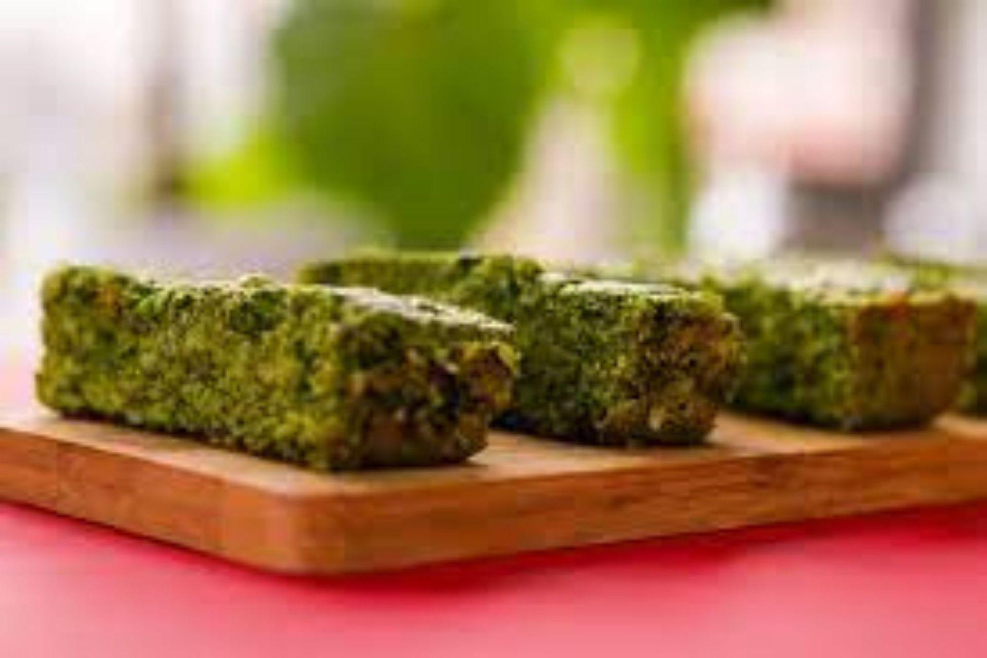 Budín de kale