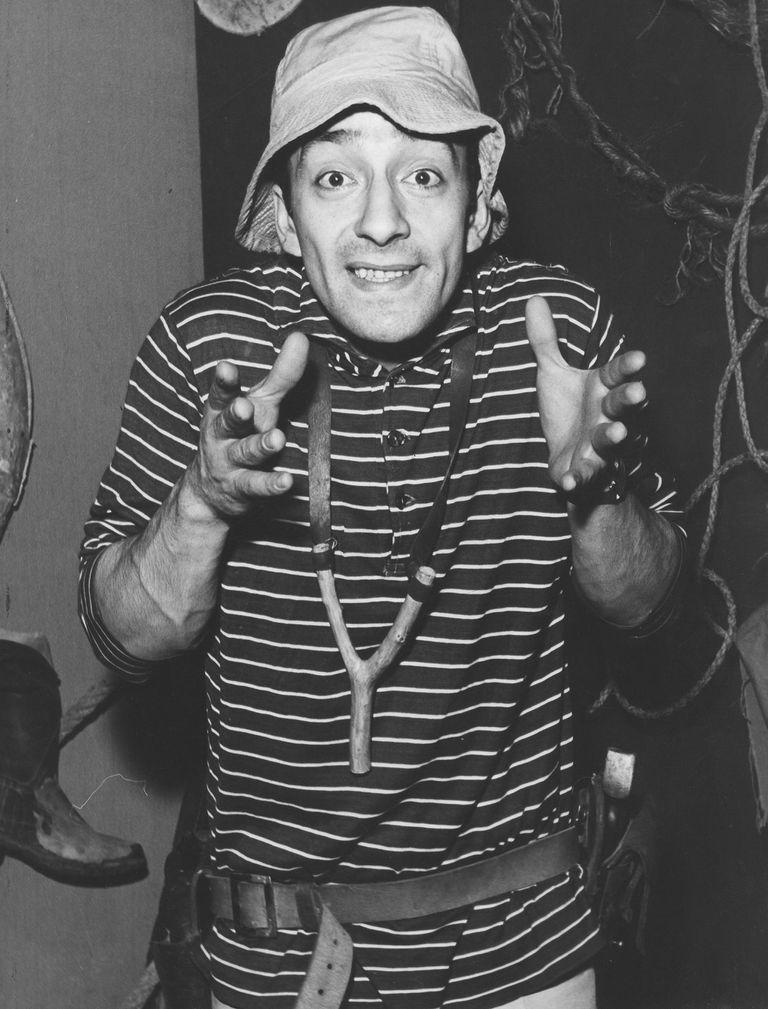 Una de las primeras imágenes del Capitán Piluso, tomada el 16/11/1961