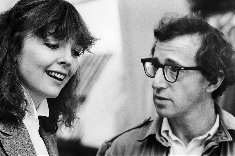Musa y director: tanto Keaton como Allen compartían un gran sentido del humor