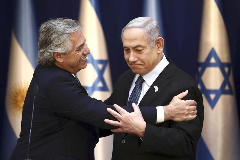 Benjamin Netanyahu le ofreció a Alberto Fernández la ayuda de científicos israelíes