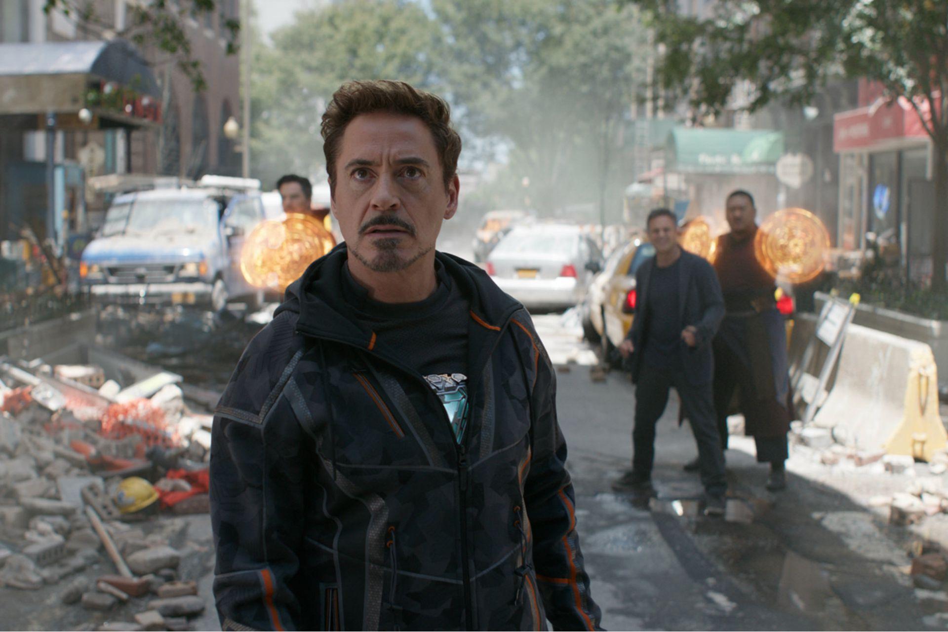 Tony Stark, gran candidato a inmolarse heroicamente en alguno de los dos últimos films de los Vengadores