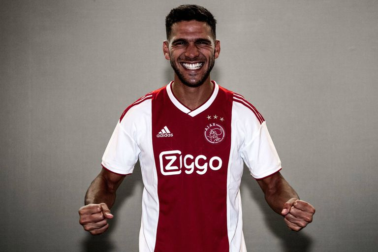 Magallán se incorporó al plantel de Ajax