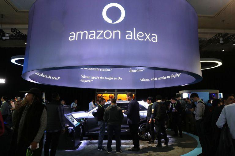 Con Alexa, Amazon también estuvo presente en el universo de dispositivos y servicios que se presentaron en la feria CES de Las Vegas