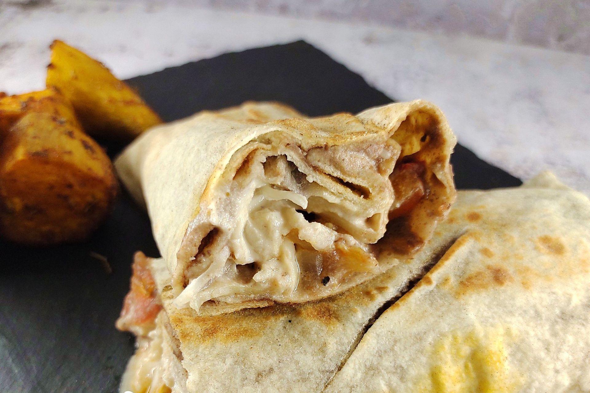 Burrito en Sampa