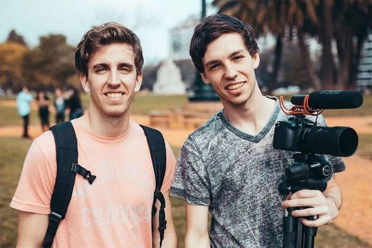 Guido Boetsch y Agustín Stegmann crearon la productora audiovisual La Gran Berta cuando estudiaban en la universidad