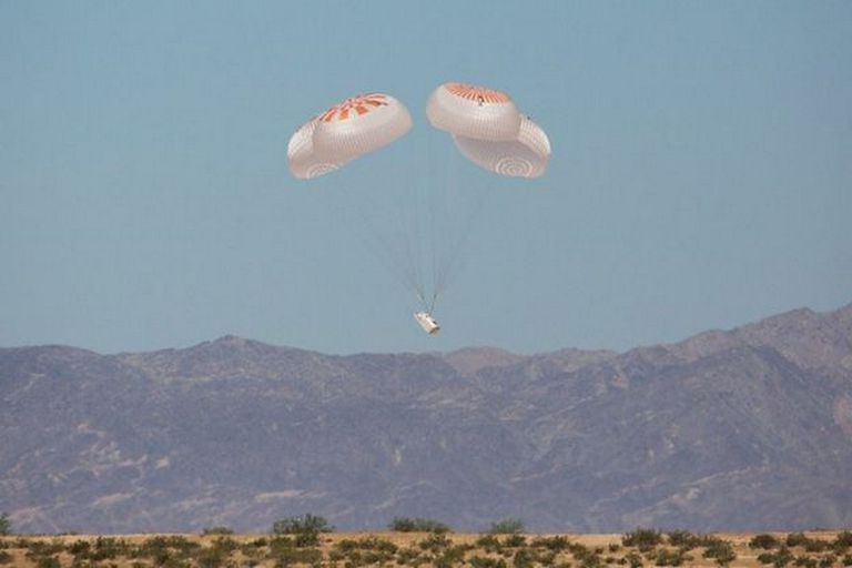 SpaceX y la NASA han ensayado varias veces el regreso de la Crew Dragon a la Tierra