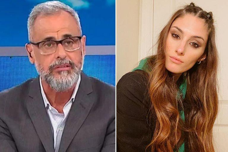 Polémica. Jorge Rial repudió el comentario de Lola Latorre sobre Nacha Guevara
