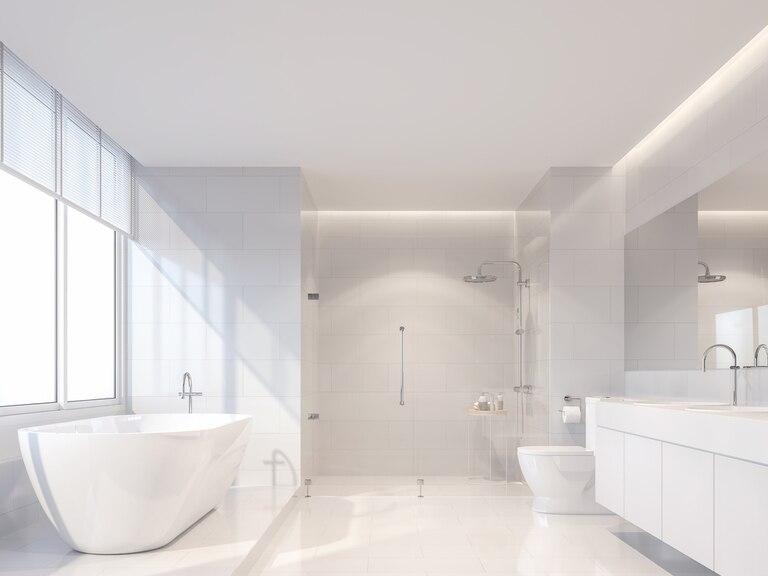 Consejos para hacer más grandes los espacios dentro de tu baño.