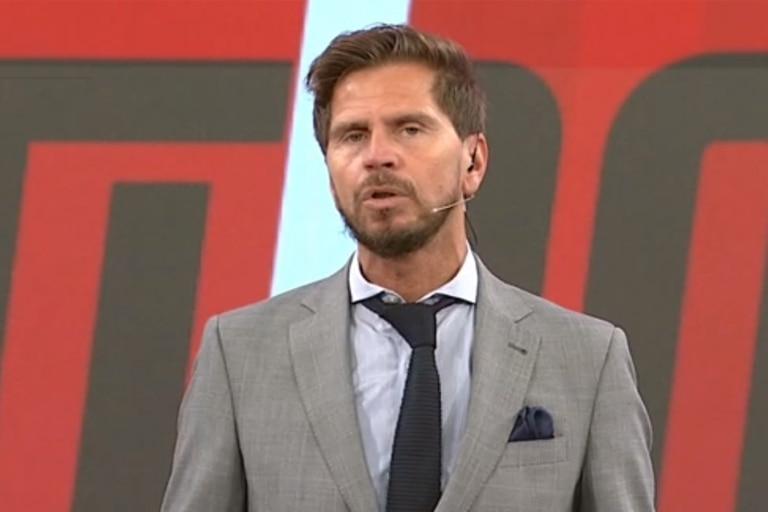 El conductor de ESPN F90, Sebastián Vignolo