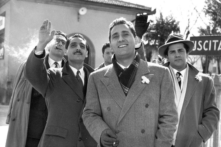 Los Inútiles de Federico Fellini