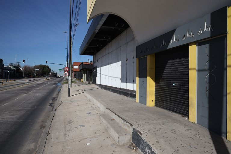 Look, sobre la avenida Calchaquí, en Quilmes.