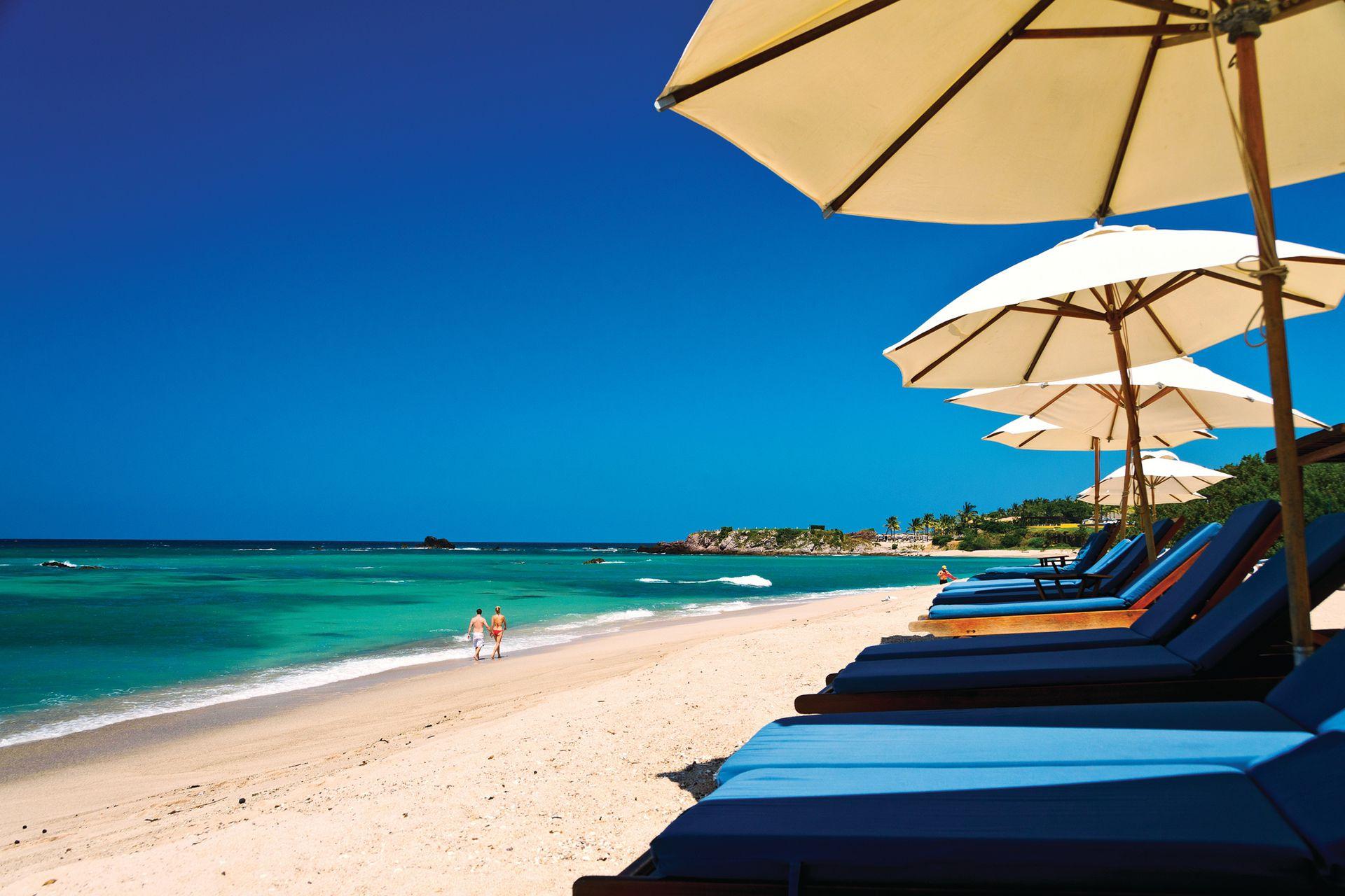 La exclusividad de las playas de Punta Mita