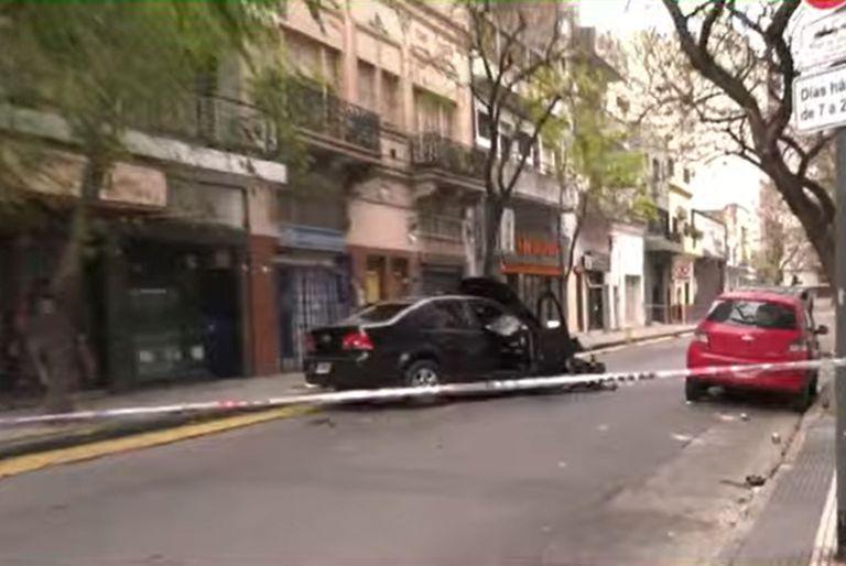 Un raid delictivo terminó con un violento choque en San Cristobal