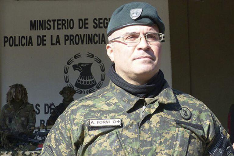 Adrián Forni era el jefe de la Policía de Rosario.