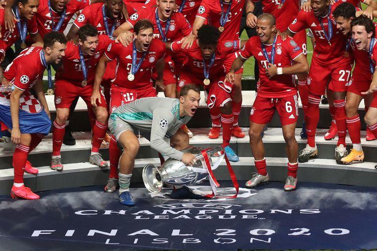 Bayern Munich. Neuer, otra vez verdugo de los argentinos: ahora, en la Champions