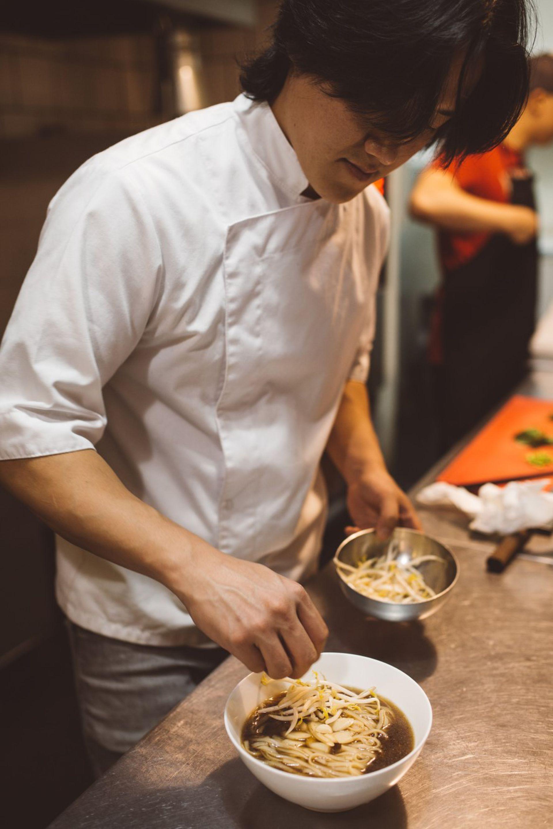 Pablo Park, alma mater de Kyopo, el restaurante de comida coreana