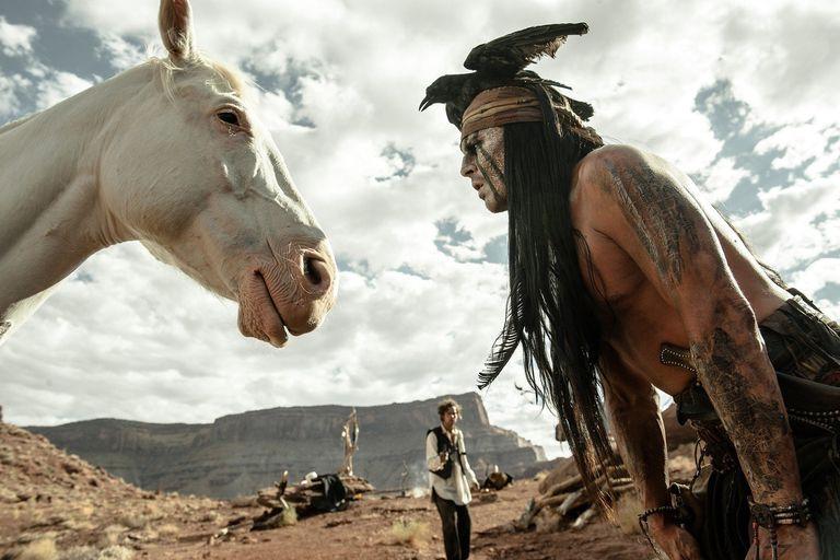 La filmación de El llanero solitario en escenarios naturales de las aventuras del Lejano Oeste tuvo complicaciones